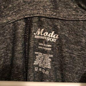 Moda Tops - Moda Maternity Sport Long Sleeve Top